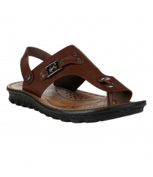 Cefiro Brown Sandal for Men - CSD0037